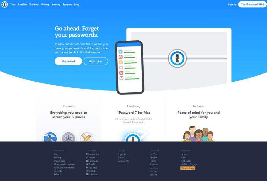 1Password – Cloud 9 Lab